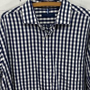 Tommy Hilfiger checked long sleeve shirt XL